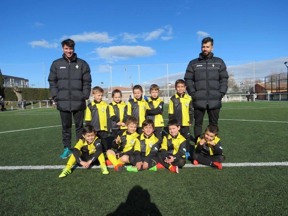 Foto grupo de chupetines del Club temporada 2017/18