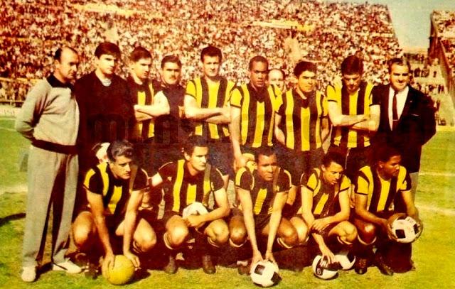 Club Atlético Peñarol-Montevideo, Uruguay. Temporada 1966-67