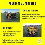 Info del equipo femenino