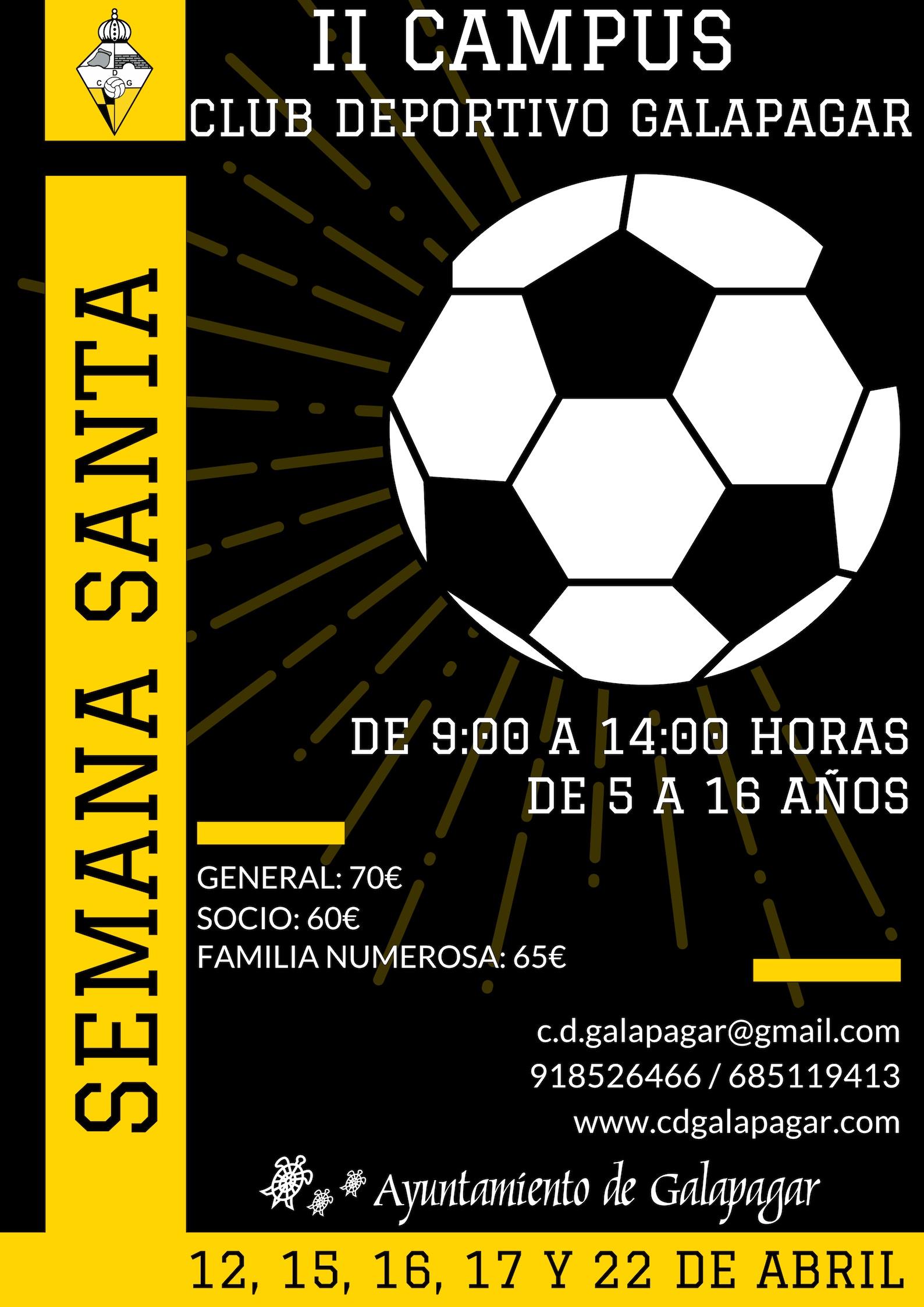 cartel II campus de Semana Santa CDG